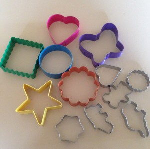 Cookie Cutters from the $2 shop