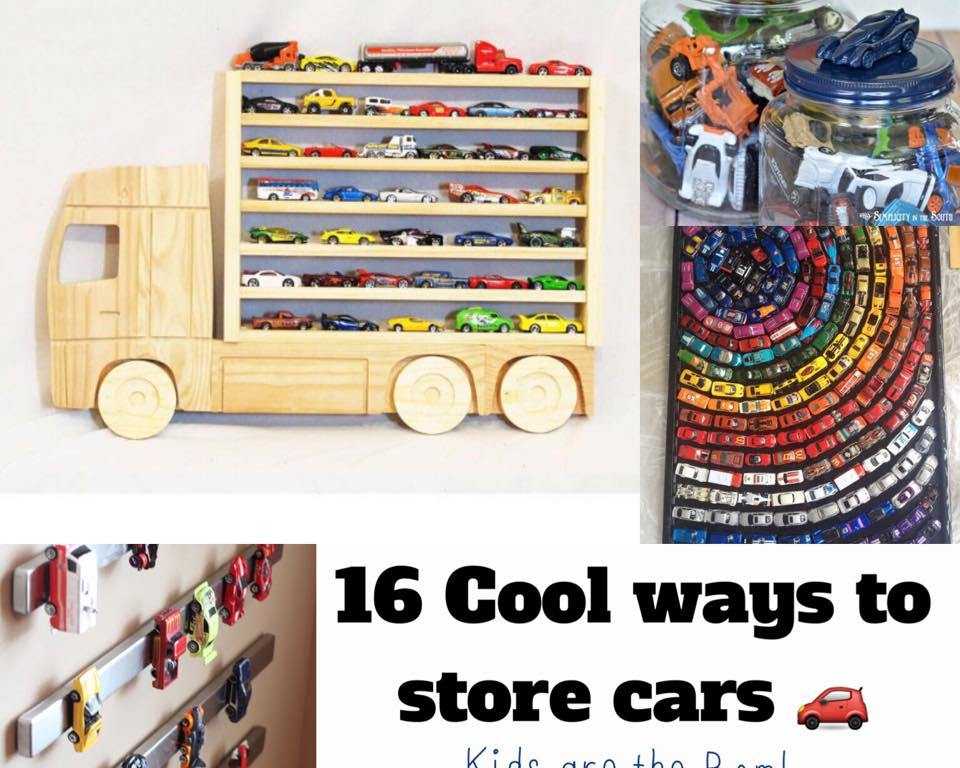 16 Of The Coolest Ways To Store And Display Toy Cars Kids Are The