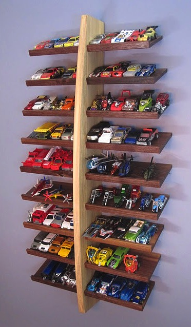 16 Of The Coolest Ways To Store And Display Toy Cars